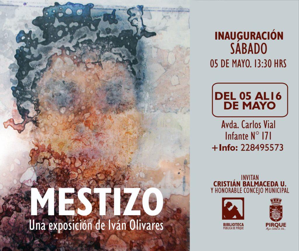 Visita la exposición MESTIZO de Iván Olivares