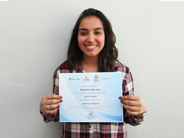 20 jóvenes de Puente Alto Chile son los nuevos egresados del Proyecto POETA YouthSpark Innovacien