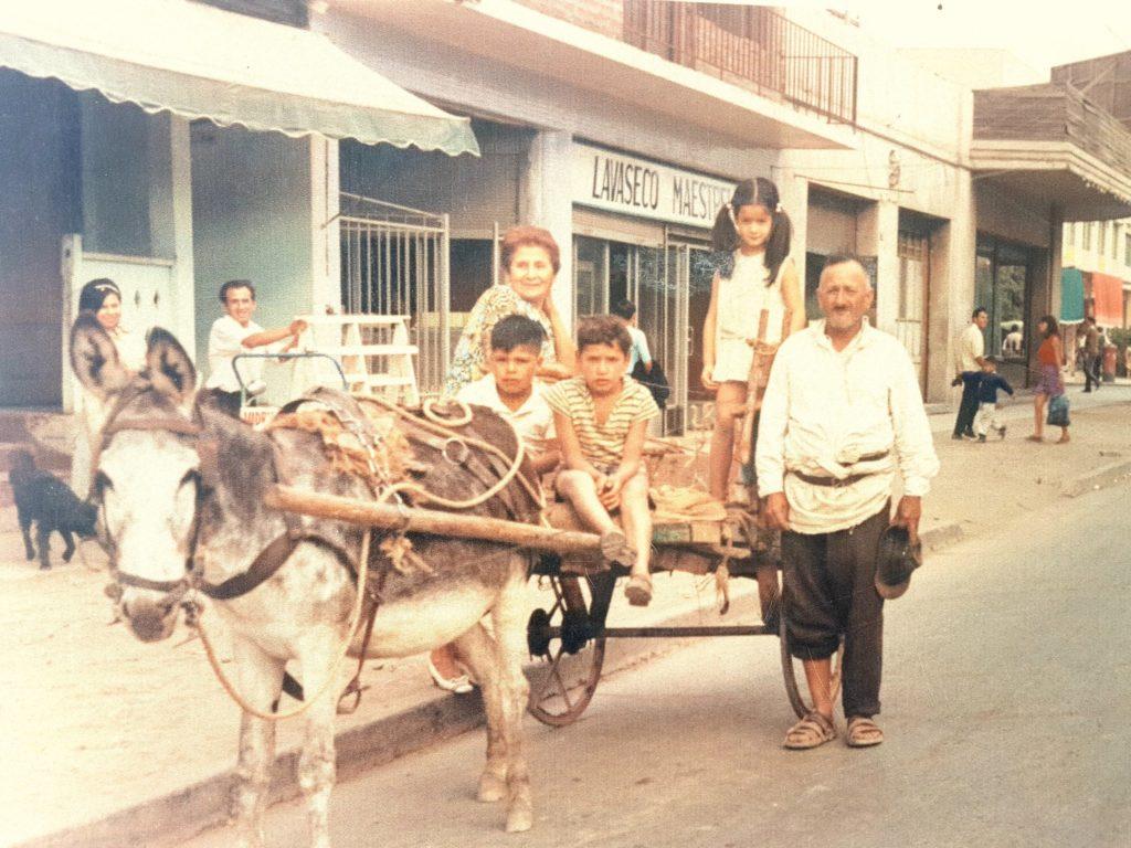 Fotografía de una familia puentealtina paseando por el centro de la comuna