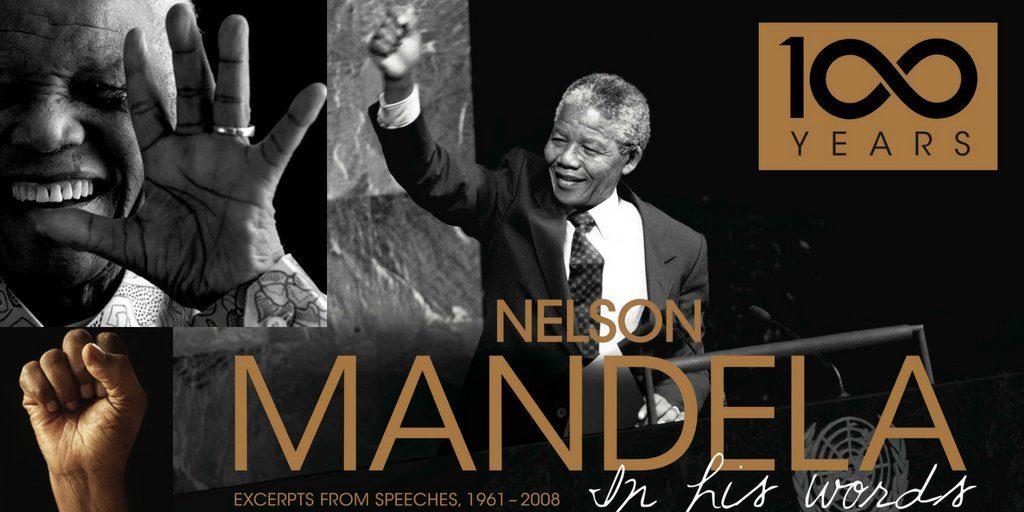 Hoy se conmemora en todo el mundo el natalicio de Nelson Mandela