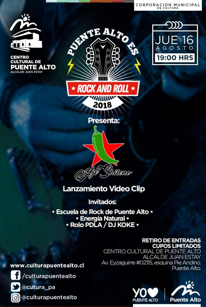 Puente Alto es Rock & Roll – 16 de agosto