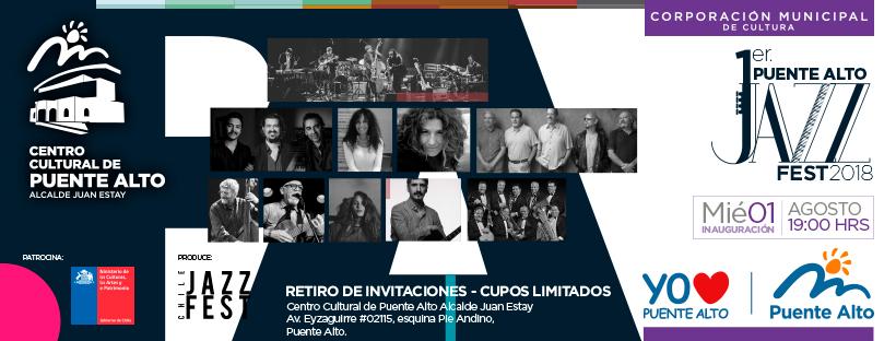 Primera versión  Puente Alto Jazz Fest 2018
