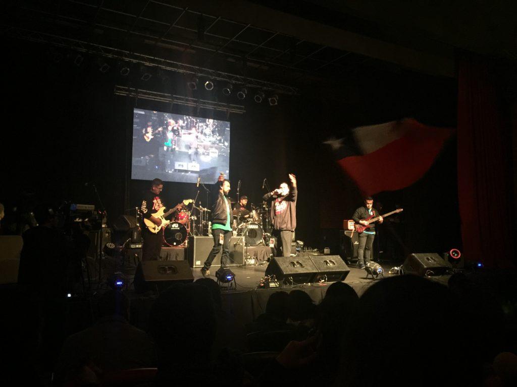 Ají Shileno de Puente Alto la Banda Más Popular de Talento Crudo 2018