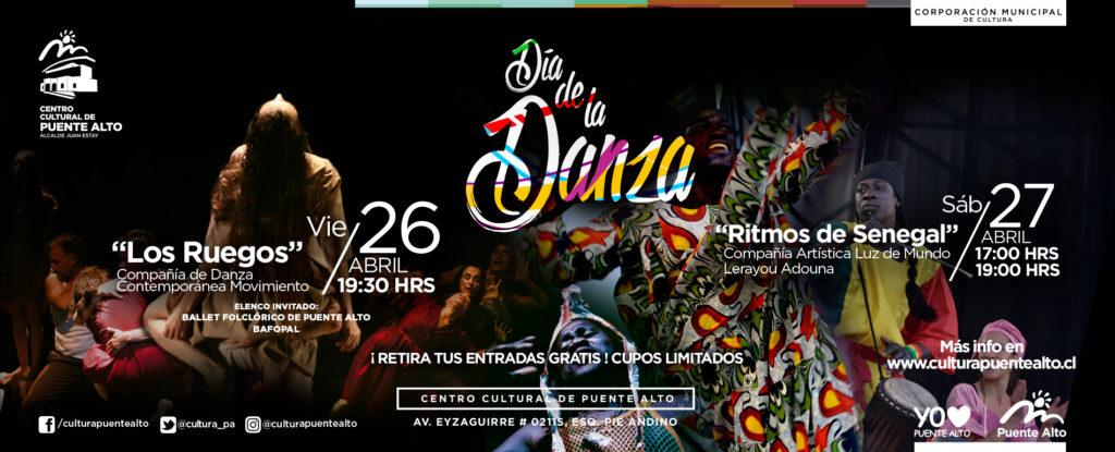Día de la Danza en Puente Alto – 26 y 27 de abril